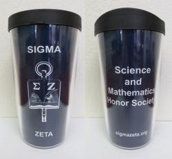 Sigma Zeta 16 oz Insulated Tumbler