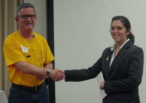 Kelly Commons, 2013 Best Paper Presentation Award