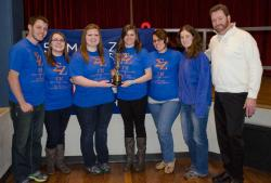 2014 Founders' Cup Award for Most Active Chapter, Marian University, Gamma Eta Chapter