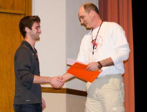 2015 Best Poster Presentation Award - Brenton Douglass, Gamma Gamma Chapter